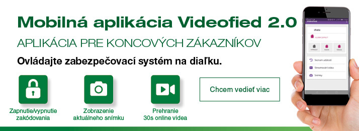 Videofied aplikácia